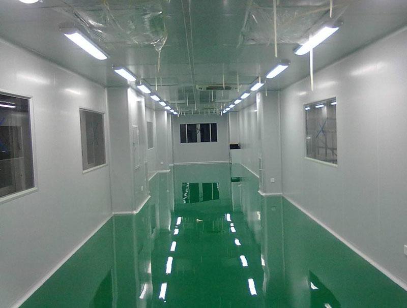 洁净实验室千级无尘净化车间工程案例