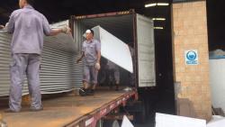 安哥拉十万级无尘车间工程材料出货中