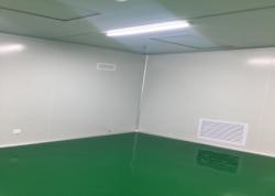 东莞市源新包装制品有限公司千级无尘车间工程案例