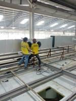 菲律宾万级无尘车间项目施工中案例
