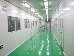 扬州电子光学万级无尘车间工程案例
