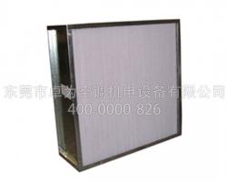 镀锌框高效空气过滤器